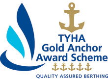 Image - Karpaz Gate Marina - TYHA Gold Anchor Awards Scheme logo