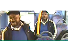 Image of man sought - bus sexual assault