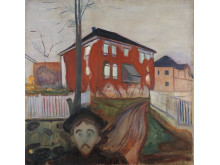 Edvard Munch, Red Virgina Creeper 1898-1900
