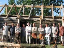 Trelleborgs frivillige har bygget nyt huggehus