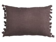 Cushion HASSEL 35x50 pompons purple (139 DKK)