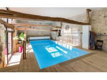 Pool im Haus von Desjoyaux