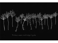 """Nisrine Boukhari """"Landscapes of Uncertain Times (Landskap i ovissa tider)"""", 2019. Ett av 100 verk."""