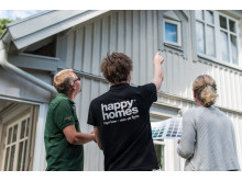 Happy Homes är ute på Hushälsa-besök
