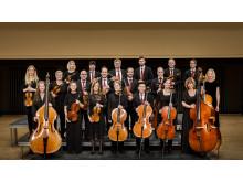Förtrollade nätter/stråkmusiker i Norrlandsoperans Symfoniorkester