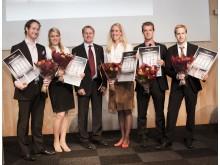 Stora Property-priset 2010, samtliga pristagare