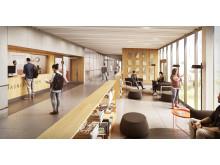 Ny behandlingsbyggnad vid Karolinska Universitetssjukhuset Huddinge
