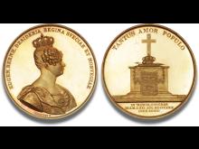 Sverige og Norge, Dronning Desideria, 1818-1844. Hammerslag: 380.000 kr.