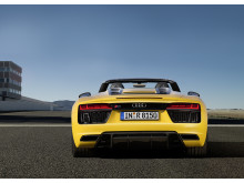 Audi R8 Spyder - bag