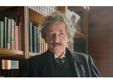 """Geoffrey Rush som Albert Einstein i """"Genius"""""""