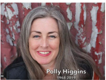 Polly Higgins,  1968-2019
