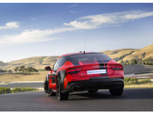Audi RS 7 piloted driving concept (2015 Robby) rear