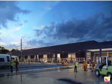 Invigning av nya Hässleholmsdepån