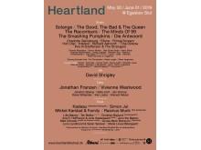 Heartland 2019 plakat