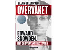Omslag: Glenn Greenwald. Overvåket. Edward Snowden, NSA og overvåkningsstaten