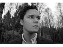 Andreas Eriksson, masterstudent i orkesterdirigering vid Kungl. Musikhögskolan (KMH) 2015.