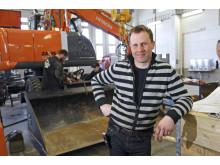 Anders Ericsson är Delvators säljare i Närke och Östergötland.