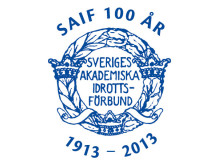 Sveriges Akademiska Idrottsförbunds jubileumslogotyp