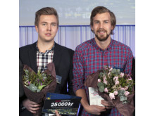 Hugopristagare årets studenter