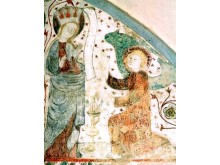Jungfru Marie bebådelsebild Vadstena