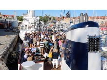 Mingel på M/S Blue Charm i Almedalen