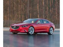 Mazda 6 rød