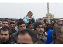 Över 4,7 miljoner människor har flytt från Syrien. Här ett foto från Kawrgosik flyktingläger nära Erbil.