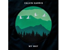 "Calvin Harris - ""My Way"" omslag"