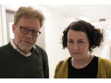 Thomas Hansson och Mätta Ivarsson.
