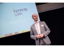 Marketing Director Martin Bock begrüßte die zahlreichen Gäste