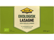 Zeta Ekologisk Lasagne