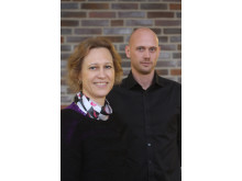 Karin Adalbeth och Mattias Wallin
