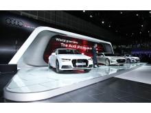 La Auto Show - A7 h-tron og Audi prologue