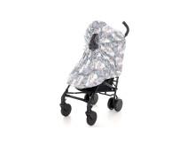 Barnvagnsmarschen-regnskydd på barnvagn