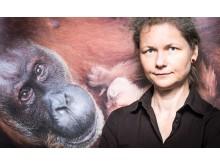 Die Leipziger  Preisträgerin und Vereinsvorsitzende Julia Cissewski