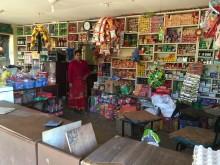 Der neue Dorfladen in Melamchi