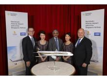 Singapore börjar flyga från Arlanda