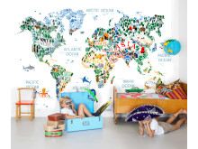 The Cutest World Map Ever