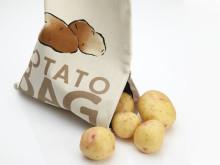 Potatispåse öppen