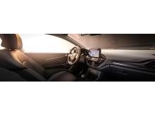 Designlinjer i den nye Ford Fiesta