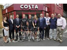 Costa Express sponsors Rapha Condor