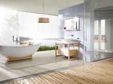 """Interiör badrumsserien """"My Nature"""" från Villeroy & Boch"""