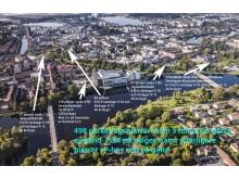 Parkering vid Karlstad CCC