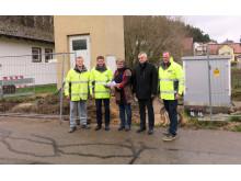 Baumaßnahme des Bayernwerks in Dietfurt vorgestellt