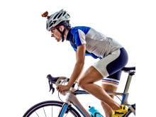 Ricoh WG-M2. orange på cyklist