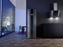 Gorenje Pininfarina Steel - Køleskab, kogeplade og emhætte