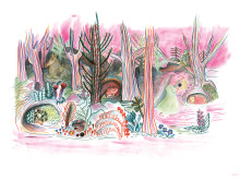 Kitty Crowther - Originalillustrationer