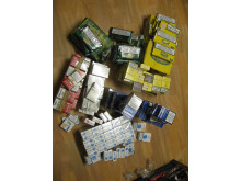 NW 14/14 Illegal tobacco and alcohol seized in Burton