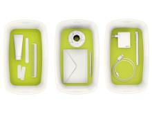 Leitz MyBox grønn med innhold