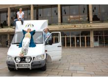 Malmö Opera på lastbil